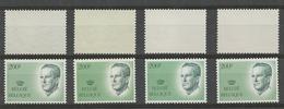 2236** , Les 4 Gomme Ou Papier : Gomme Jaunâtre, Verdâtre Claire Et Foncée Et Le Rare EPACAR - Unused Stamps