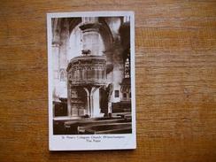Angleterre , Wolverhampton , St Peter's Collégiate Church ,, The Pulpit - Wolverhampton