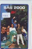 Télécarte Japon * TORTUE  (1182)  PHONECARD JAPAN * TURTLE * TELEFONKARTE * SCHILDKRÖTE * SCHILDPAD - Schildpadden