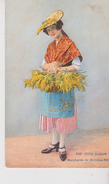 FOLKLORE . Côte D'Azur. Marchande De Mimosas. - Costumes