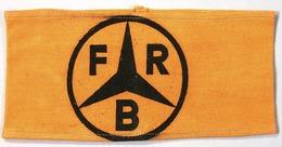 WILLY LEHMANN Armbinde, Ehem. Aus Dem Besitz Willy Lehmann, Mercedes - Stern Mit Den Buchstaben FRB !!! - Cars
