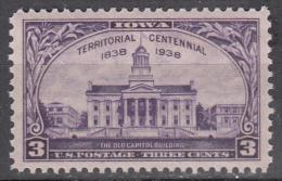 United States     Scott No   838     Mnh      Year   1938 - Nuevos