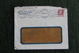 Enveloppe Timbrée Publicitaire,Villefranche, A.GACHON - Lettres & Documents