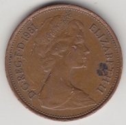 @Y@    2  New Pence Groot Brittannië   1981    (4376) - 2 Pence & 2 New Pence