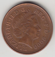 @Y@    2   Pence Groot Brittannië   2000    (4378) - 2 Pence & 2 New Pence