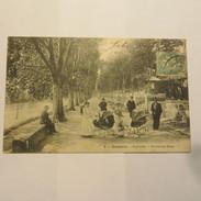 30 - SOMMIERES  -  L´esplanade  En 1903 - Alès