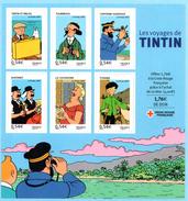 France.bloc No 109.les Voyages De Tintin.2007.n**. - Ongebruikt