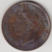 @Y@    One Penny  Groot Brittannië   1938   (4388) - 1902-1971 :  Post-Victoriaanse Muntstukken