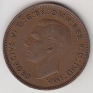 @Y@    One Penny  Groot Brittannië   1937   (4390) - 1902-1971 :  Post-Victoriaanse Muntstukken