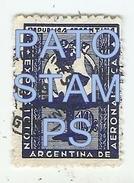 64625 ARGENTINA STAMPS EXPOSICION AERONAUTICA AVIATION  NO POSTAL POSTCARD - Argentinien