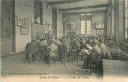 26 DROME VALENCE Lycée La Classe De Dessin Tabourets Et Chevalets D'ecole Eleves EDITION PETITIN  TOURTE Rare - Valence