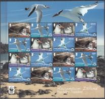 Ascension Island 2011 Bloc Feuillet WWF Oiseau Phaéton à Bec Rouge Neuf ** - Ascension (Ile De L')
