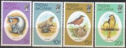 Tristan Da Cunha 1979 Michel 253 - 256 Neuf ** Cote (2002) 3.50 Euro Animaux - Tristan Da Cunha