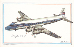 AS: Roy Anderson; United Douglas DC-7, 1960s - 1946-....: Moderne