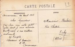 Carte Postale Concarneau 1918 CHASSEUR DE SOUS MARIN Première Guerre Mondiale Finistère Hôtel Du Commerce - WO1