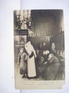 """CPA HOSPICES De BEAUNE - SALON 1904 Les Convalescents Dans La """"grant Chambre Des Povres"""" T.B.E. Ldéchirée Bas Droit - Beaune"""