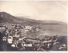 Foto (edizione Alinari ) N° 14860 Principato Di  Monaco Panorama Di Monaco E Montecarlo - Luoghi