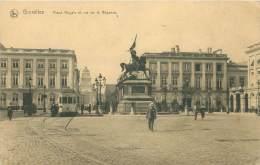 BRUXELLES - Place Royale Et Rue De La Régence - Squares