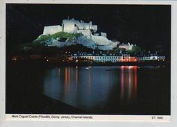 Cpm St002601 Mont Orgueil Castle La Nuit - Jersey