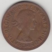 @Y@    One Penny  Groot Brittannië   1962   (4395) - 1902-1971 :  Post-Victoriaanse Muntstukken