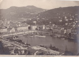 Foto (edizione Alinari ) N° 14879 Nizza Panorama Del Porto - Luoghi