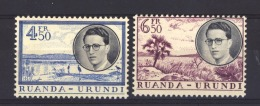 Ruanda- Urundi  :  Yv  198-99  ** - Ruanda-Urundi