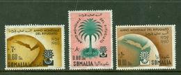 Somalia 1960 Yv 277/79**, Sc 239/241** MNH - Somalie (1960-...)