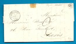 Seine Et Marne - Villeparisis Pour Paris. CàD Type 15 + Taxe Tampon 2. Origine Rurale De VILLEVAUDE. Indice 8 - Marcophilie (Lettres)