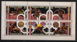 Sénégal - 1976 -  Kleinbogen N° Mi. 597/602 - JO Montreal - Neuf ** Luxe / MNH / Postfrisch