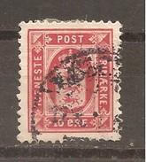 Dinamarca-Denmark Yvert Nº Servicio 9 (A) (usado) (o) - Service