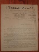 39 - Perrigny - Jura - Usines De La Gravière - Lucien Terraillon - 1934 - Horloge - Horloges - Horlogerie - Carillons - Petits Métiers