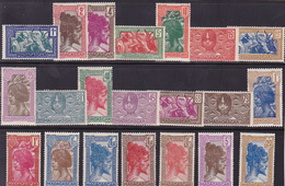 Madagascar Série N° 161A à 178 (Sauf 174) Neuf * - Voir Verso - - Neufs