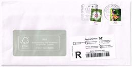 Bund 2014/5, Michel# 3116 + 3191 O Einschreiben Mit Rückschein  3116 Mit Nr. 85 - [7] Federal Republic