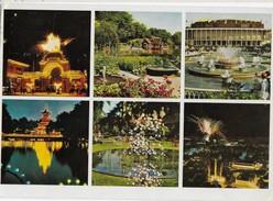 1974 The Tivoli Gardens Multiview Copenhagen Denmark Postcard To Austraila - Denmark