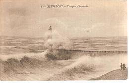 76 - Le Tréport - Tempête D'équinoxe - Le Treport