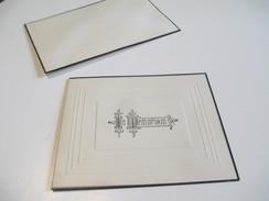 Carte De Condoléances/Canada /Sincéres Sympathies De ../Non Attribuée/Vers 1940-1950    FPD103 - Décès