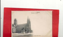 ROUEN . EGLISE SAINT-OUEN . DOS NON DIV NON ECRITE - Rouen