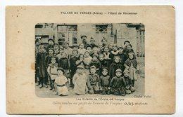CPA  02  :  VORGES  Enfants De L'école  1921  VOIR  DESCRIPTIF  §§§ - France