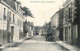 Cellettes - Grande Rue - Autres Communes