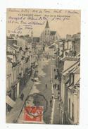Cp , 60 , CLERMONT , Rue De La REPUBLIQUE , Voyagée 1914 - Clermont