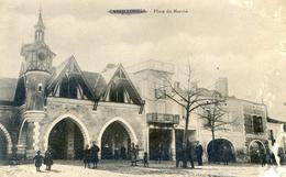 Castillonnes - Place Du Marché - France