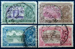 BRITISH INDIA 1931 New Delhi Inauguration Set Of 4 USED - India (...-1947)