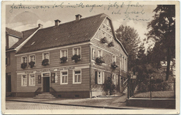 """Burscheid - Restaurant """"Zum Deutschen Haus"""" - Bes. Bruno Lungstraß (ca. 1932) - Allemagne"""
