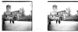 H0301 - ITALIE - ASSISE - Le Couvent - Plaques De Verre