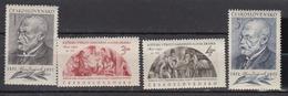 TCHECOSLOVQAUIE    1951     N /   593 § 596       COTE   5 . 00      EUROS              ( M 261 ) - Tchécoslovaquie