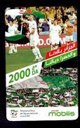 Telecarte Algérie Algeria Carte Prépayée Prepaid Card Mobilis 2000DA - Algeria