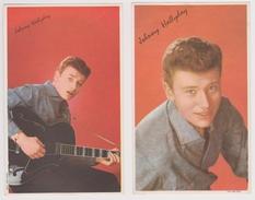 Johnny Hallyday - 2 Images - Clichés Sam LEVIN - Autres