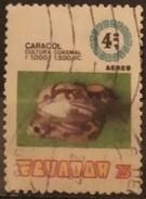 ECUADOR 1976 Airmail - Archaeological Discoveries. USADO - USED. - Equateur