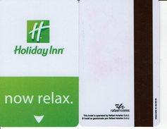 HOTEL RAFAEL HOLIDAY INN    KEY CARD LLAVE KEYCARD HOTELKARTE CLEF - Hotel Labels