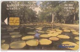 MAURITIUS ISLAND - Pamplemousses Garden 2, Chip GEM3.1, Tirage 30.000, 04/03, Used - Mauritius